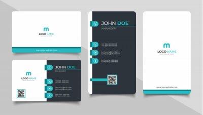Bild creative modern name card and business card