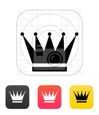 Crown Icons. Vektor-Illustration.