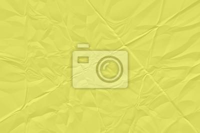 Bild crumpled yellow paper background close up