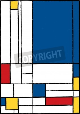 Bild Cubist painting