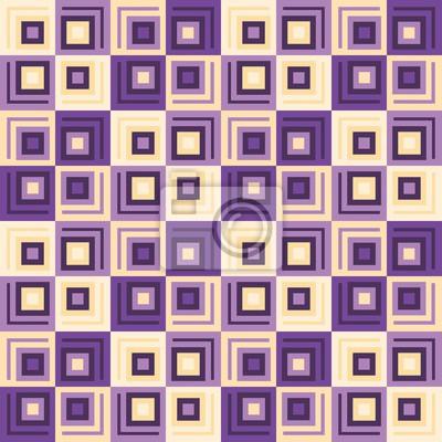 Cubix Quadrate Nahtlose Muster