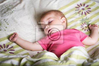 Cute Baby Mädchen schläft
