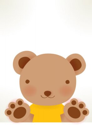 Bild Cute Character Vektordatei EPS10