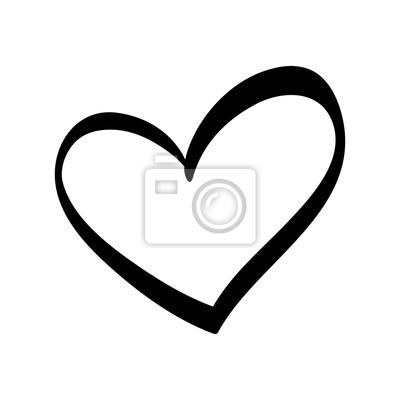 Bild Cute dekorative Herz-Symbol Vektor-Illustration Grafik-Design