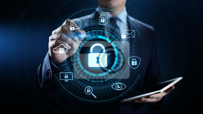 Bild Cyber security data protection information privacy internet technology concept.