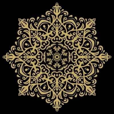 Bild Damast-orientalisches Muster