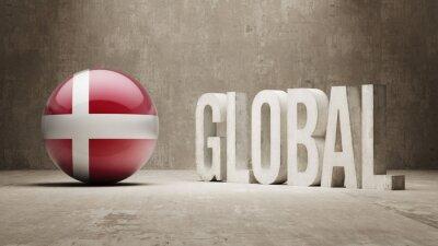 Dänemark. Globales Konzept.