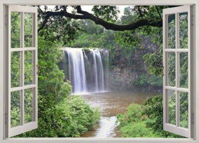 Bild Dangar Falls zu in offene Fenster