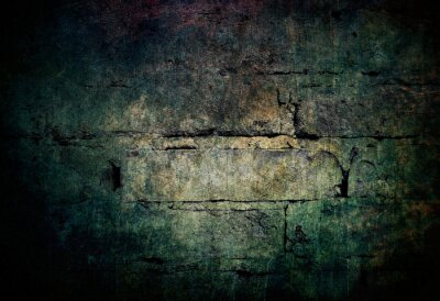 Bild Dark mysterious stone wall background texture grunge backdrop for scary graphics