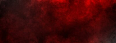 Bild dark saturated black magic background with red fog