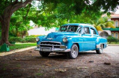 Bild Das alte Auto auf Kuba