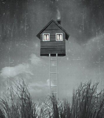 Bild Das Haus fliegen
