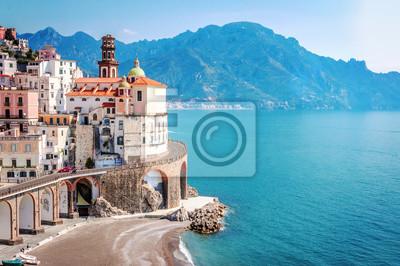 Bild Das malerische Dorf von Atrani, Amalfi-Küste