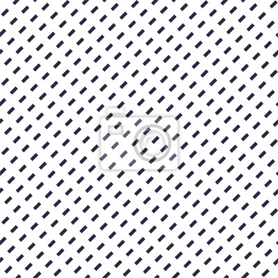 Dashed lines minimal vector seamless pattern, abstract background. Simple geometric design. Diagonal parallel stripes. Single color, black and white.
