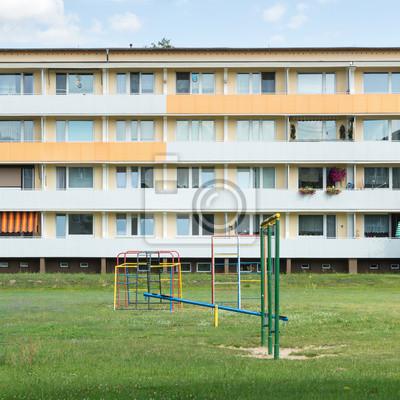 DDR-Plattenbau