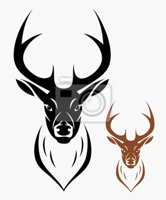 Deer Kopf
