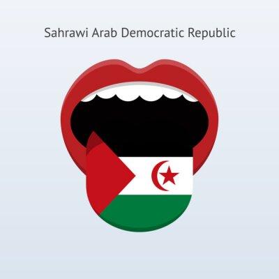Demokratische Arabische Republik Sahara Sprache.