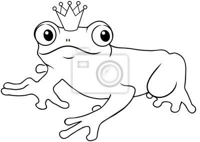 Bild Der Froschkönig Ausmalbild