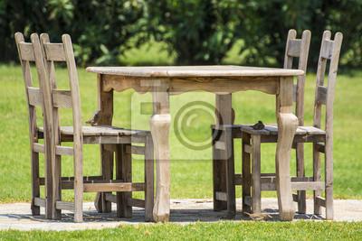 Der Gartentisch
