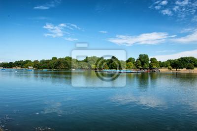 Bild Der Serpentine-See im Hyde Park in London
