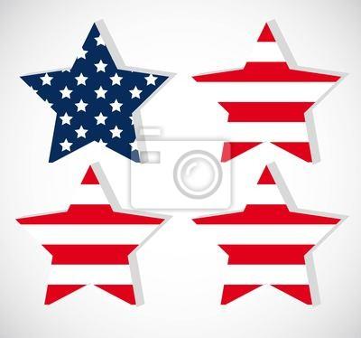 Der Star der Unabhängigkeit
