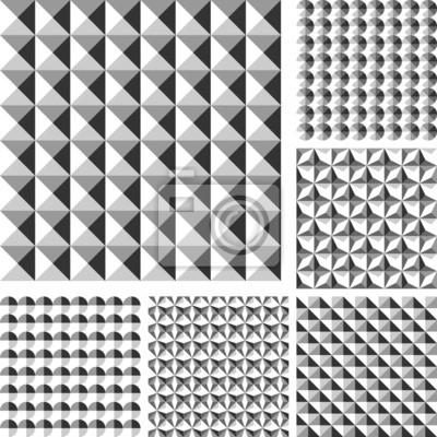 Design die nahtlose geometrische Muster