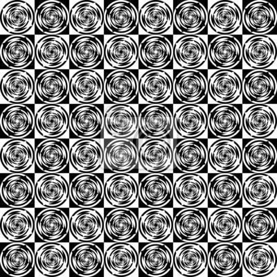Design die nahtlose monochrome Muster