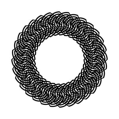 Design monochrome decorative element