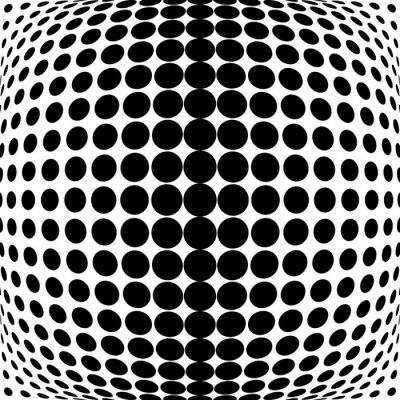 Bild Design monochrome dots background