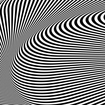 Design monochrome strukturierte Illusion Hintergrund