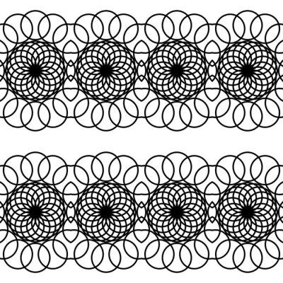 Design seamless decorative pattern