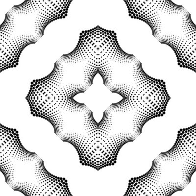 Design seamless dotted pattern