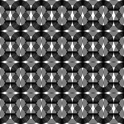 Design seamless waving pattern