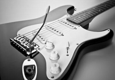 Bild Detail der E-Gitarre