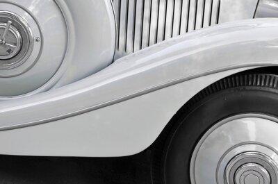 Bild Detail eines alten Autokarosserie