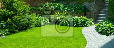 Bild Detail of a botanical garden.