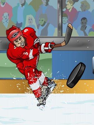 Bild Detroit Eishockeyspieler.