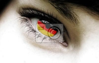 Deutsch Auge