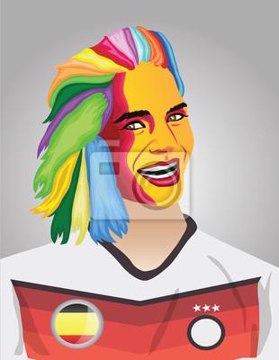 Deutsch Fußball-Fan
