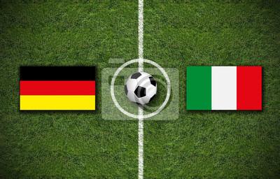 fußballspiel deutschland gegen italien