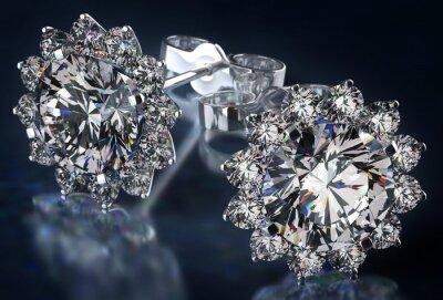 Bild Diamant-Ohrringe