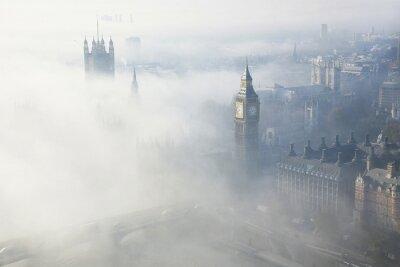 Bild Dichter Nebel trifft London