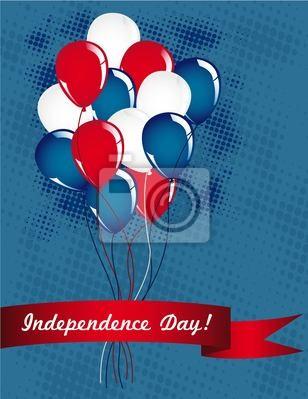 Die Ballons der Unabhängigkeit