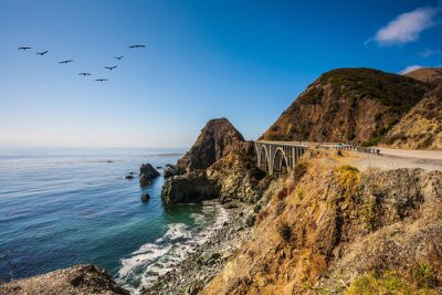 Bild Die Brücke - Viadukt entlang der Pazifikküste