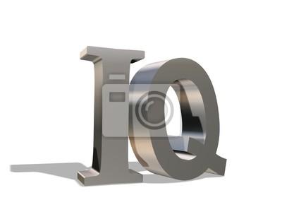 Die Metall-Lettern Ablehnung einen Schatten, auf einem weißen Hintergrund
