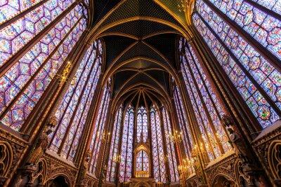 Bild Die Sainte Chapelle in Paris