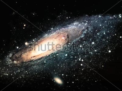 Bild die Spiralgalaxie