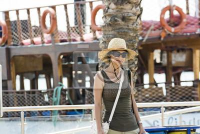 Die Tourist-Mädchen