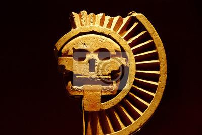Disque de la mort, Musée National d'Anthropologie, Mexiko