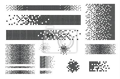 Bild Dissolved filled square
